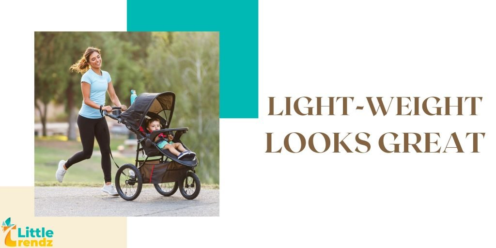 Light-Weight Baby Trend Travel System